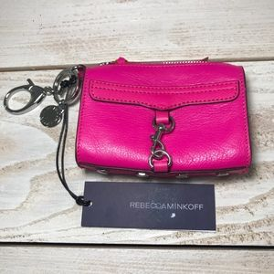 Rebecca Minkoff Hot Pink Crossbody Mini Purse NWT